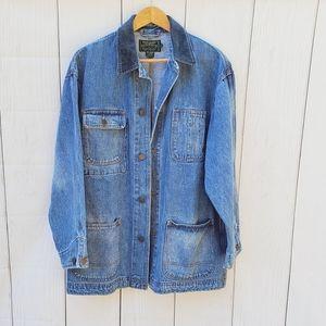 Ralph Lauren Country vintage oversize denim jacket